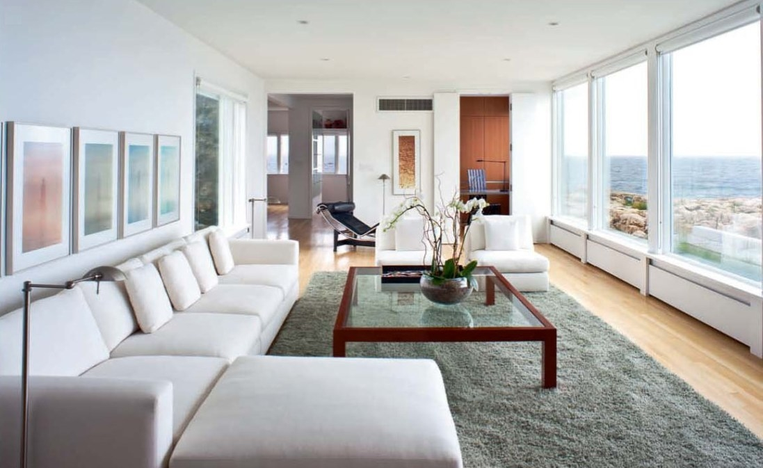Гостиная в современном дизайне